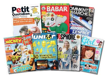 abonnement magazine jeunesse