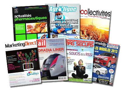 abonnement magazine et presse professionnelle
